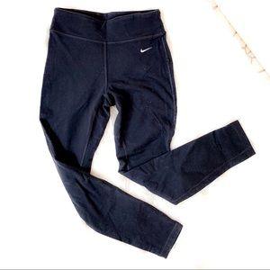 Nike Dri-fit Black Leggings size small